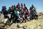 گزارش برنامه صعود مستقل  بانوان سراب به قله بزقوش