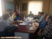 نشست تخصصی ارکان هیات کوهنوردی استان با مدیرکل محترم اداره ورزش وجوانان استان