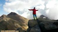 صعود قلل چهارگانه آراگاتس توسط کوه بانوی آذربایجانی