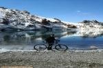 صعود قله سبلان با دوچرخه توسط کوه بانوی تبریز