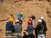 گزارش برگزاری کلاس کار آموزی سنگنوردی