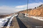گزارش تصویری از عینالی در آخرین جمعه برفی پاییز
