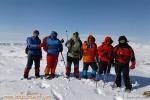 صعود تیم هیات کوهنوردی و صعودهای ورزشی شهرستان هشترودبه قله ۲۳۵۰متری مهردار سهند