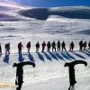 صعود کوهنوردان هیئت کوهنوردی و صعودهای ورزشی شهرستان هریس به قله دند