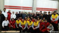 مراسم گرامیداشت شهدای آتش نشانی توسط هیات کوهنوردی شهرستان میانه