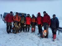 نجات کوهنوردان گم شده در قله گوی زنگی
