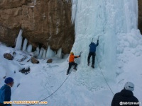 گزارش سومین و آخرین روز اولین دوره آبشار یخی در آستان آذربایجان شرقی
