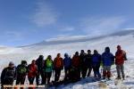 صعود کوهنوردان اهر به قله ۳۱۵۰ متری قوشاداغ