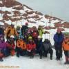 برگزاری کلاس آموزشی نجات برف (بهمن شناسی) توسط گروه کوهنوردی آذر جوان تبریز
