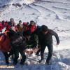 گزارش تکمیلی از جستجوی دو کوهنورد مفقود شده درحادثه بهمن کهلیک بولاغی در منطقه کوه عون ابن علی تبریز