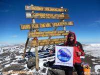 صعود تیم آذرکوه به سرپرستی مسعود آقا بالایی به قله کلیمانجارو