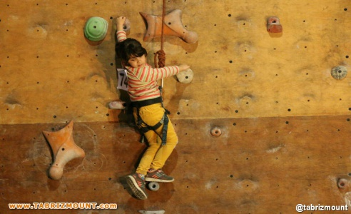 گزارش تصویری ۲ مسابقات سنگ نوردی داخل سالن سردرود