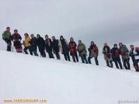 به مناسبت بزرگداشت ۲۹ بهمن صعود کوه بانوان هادیشهر به ارتفاعات منطقه