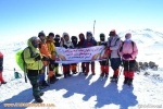 گزارش تصویری حضور کارگروه بانوان در صعود سراسری منطقه شمالغرب کشور به قوچ گلی (کمال) سهند
