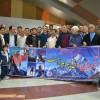 گزارش تصویری بدرقه عظیم قیچی ساز از فرودگاه تبریز