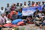 شور و شوق و قدردانی کوهنوردان در صعود به قلل استان از هیمالیا نوردان