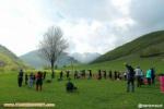 صعود کوهنوردان باشگاه داغ داش اهر به علی بیگ قلعه سی