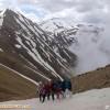 صعود کار گروه بانوان هیات کوهنوردی شهرستان میانه به قله  کیامکی