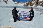 کوهنوردان استان برای ارج نهادن وقدردانی از تلاش و فعالیت کوهنوردان تبریز درصعود به قلل هیمالیا به قله سبلان صعود کردند