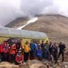 صعود کوهنوردان اهر به قله سبلان