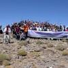 کوهپیایی سراسری کارگران کشور به قله قوشا داغ اهر