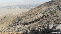 بمناسبت گرامیداشت هفته دفاع مقدس و حسینی اعظم صعود کوهنوردان سراب به قله بزقوش