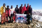 صعود کوهنوردان هریس به قله ساپلاق بمناسب گرامیداشت هفته تربیت بدنی و روز کوهنورد