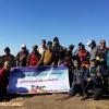 صعود همگانی به کوه میشو (فلح) به مناسبت گرامیداشت هفته تربیت بدنی