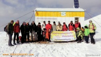 صعود کوهنوردان هیات کوهنوردی و صعود های ورزشی شهرستان ویژه مرند  به قله کمچی به مناسب بزرگداشت ۱۳ آبان