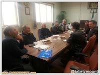جهت هم اندیشی با هیات های شهرستانهای استان ،حضور ریاست هیات کوهنوردی استان در ملکان و عجبشیر
