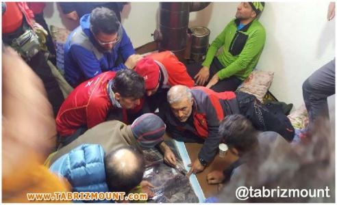 گزارش تصویری از عملیات امداد و نجات در منطقه میشو مرند (۱)