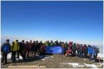 بمناسبت بزرگداشت دهه مبارک فجر صعود کوهنوردان اهر به ارتفاعات قوشاداغ