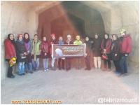 گزارش دوره غارپیمایی بانوان در شهرستان مراغه
