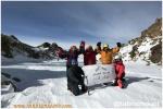 صعودزمستانی کوهنوردان باشگاه همنوردان پاک تبریز به قله سلطان ساوالان از مسیر گرده