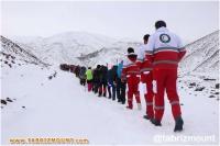 صعود بانوان کوهنورد استان آذربایجان شرقی به قله قسیر داغی