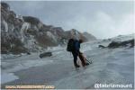 گزارش صعود زمستانه یخچالهای پنجگانه کوهستان سبلان در یک برنامه