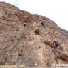 گزارش برنامه تمرینی در منطقه سنگنوردی گلجیک زنجان