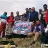 با شعار هر کوهنورد، یک محافظ محیط زیست ، کوهنوردان هیئت کوهنوردی شهرستان هریس قله کمتال را صعود کردند