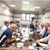 جلسه هم اندیشی ریاست ، دبیر و کمیته سنگنوردی هیات کوهنوردی استان با مسئولین ورزش شهرستان میانه