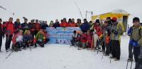 همایش بزرگ صعود شمالغرب کشور به قله ۳۳۴۷ متری کیامکی (دماوند آذربایجان )