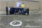 گزارش مراسم کلنک زنی سالن اختصاصی سنگنوردی داخل سالن شهرستان ملکان