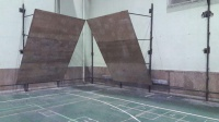 ادامه کار ساخت و توسعه دیواره سالن کوثر