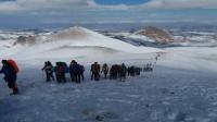 صعود کوهنوردان کشور به قلل هفتگانه سهند،گرامیداشت چهلمین سالگرد پیروزی شکوهمند انقلاب اسلامی