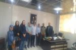 جلسه هم اندیشی با هیئت کوهنوردی شهرستان اسکو