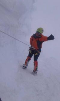 صعود سرکار خانم زهرا نعمتی به قله ۸۱۶۳ متری ماناسلو