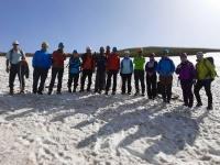 برگزاری جلسه تمرینی و توان افزایی برای شرکت کنندگان در آزمون و بازآموزی مربیگری یخ و برف