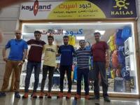 جلسه هیئت کوهنوردی استان با اسپانسر تیم اسکای رانینگ