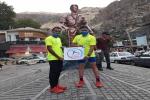 پیام تبریک رئیس هیئت کوهنوردی و صعودهای ورزشی به مقام آوران مسابقات اسکای رانینگ کشوری