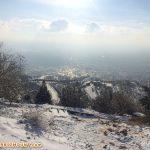 هوای آلوده تبریز در یک روز تعطیل