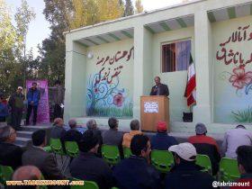 سخنرانی رئیس محترم اداره ورزش و جوانان شهرستان مرند